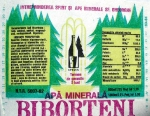 Eticheta Biborteni apa minerala