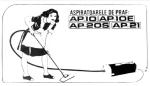 Reclama Aspiratoare de Praf AP10