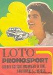Reclama Lotto Pronosport