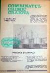 Reclame Combinatul Chimic Craiova in Almanah 1986 Tehnica