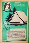 Reclame in almanah 1986 Cort
