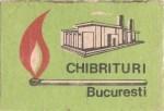 Cutie Chibrituri Bucuresti 1970