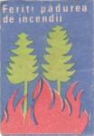 Cutie Feriti Padurea de incendii 1972