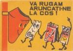 Cutie Va Rugam Aruncati-ne la Cos 1973