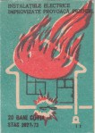 Cutie Instalatiile Electrice Improvizate Provoaca Incendiul 1978