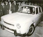 Dacia 1100 condusa de Ceausescu