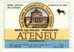 Eticheta Bere Ateneu '80
