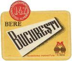 Eticheta Bere Bucuresti - Oradea '56