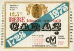 Eticheta Bere Caras '75