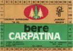 Eticheta Bere Carpatina '70
