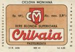 Eticheta Bere Crivaia '88