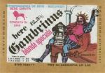 Eticheta Bere Gambrinus '77