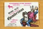 Eticheta Bere Gambrinus '72