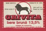 Eticheta Bere Grivita '80