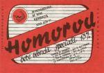 Eticheta Bere Homorod '89