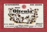 Eticheta Bere Oltenia '87