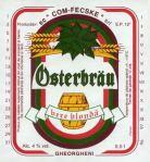 Eticheta Bere Osterbrau - Gheorgheni '96