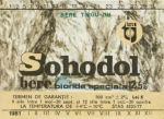 Eticheta Bere Sohodol '81