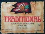 Eticheta Traditional - Tuica Veche
