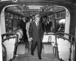 Nicolae Ceausescu in Vizita la Troleibuze