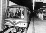 Nicolae Ceusescu la Metrou