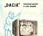 Reclama Televizor Dacia