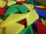Jocul Mozaic de Plastic