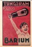 Reclama Tungsram Radio Barium