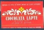 Ciocolata Cu Lapte