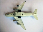 Avion din Metal Made in China - Anii '90 - spate