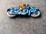 Motocicleta din Tabla