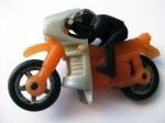 Motocicleta din plastic