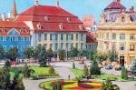 Sibiu Piata Republicii Anii 70