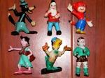Figurine romanesti - Anii 70