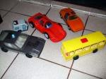 Masinute diferite din Plastic