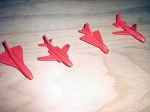 Mini Avioane din plastic