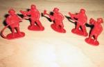 Pompieri din Plastic
