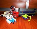 Roboti Transformers & Escavatoare