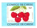 Eticheta Compot de Cirese