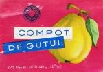Eticheta Compot de Gutui