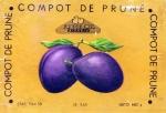 Eticheta Compot de Prune