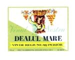 Eticheta Vin Dealul Mare