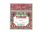 Eticheta Vin Vermut Rosu